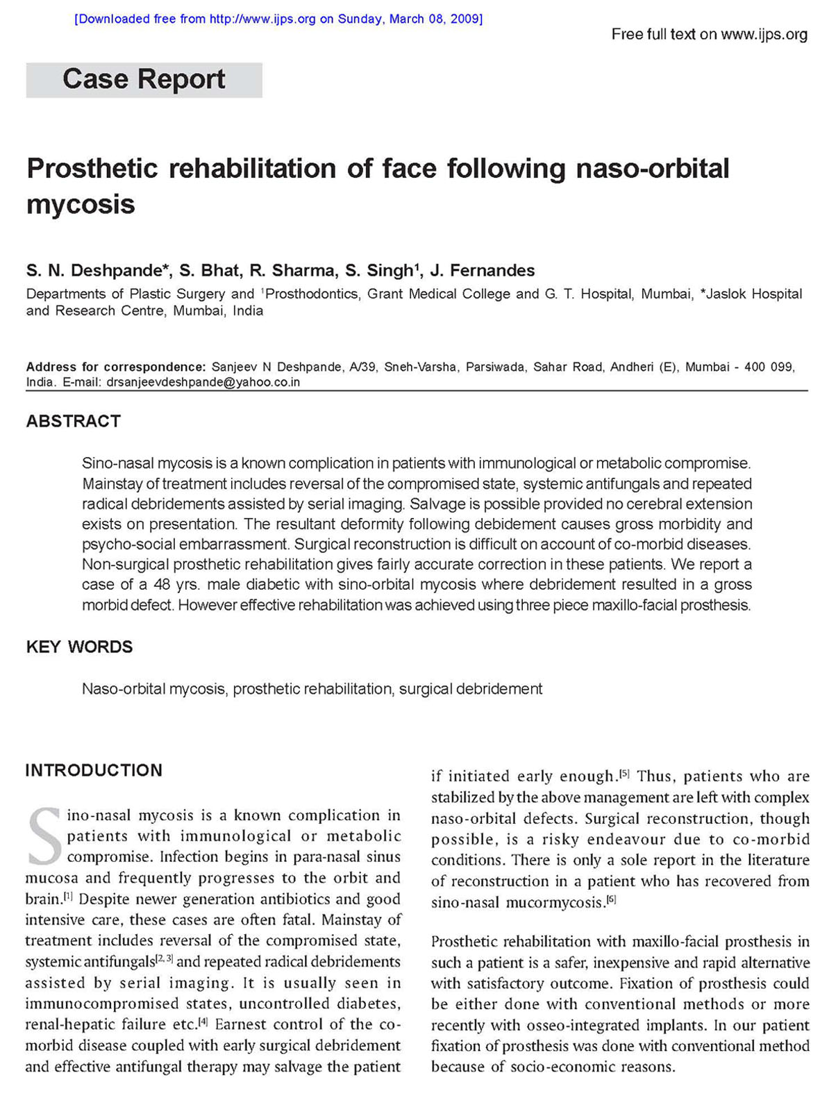 plastic surgeon research paper
